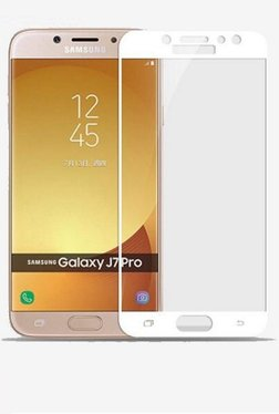 Parallel Universe Tempered Glass Screen Protector For Samsung Galaxy J7 Pro (White)