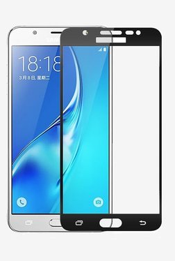 Parallel Universe Tempered Glass Screen Protector For Samsung J7 Prime (Black)