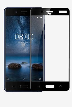 Parallel Universe Tempered Glass Screen Protector For Nokia 8 (Black)