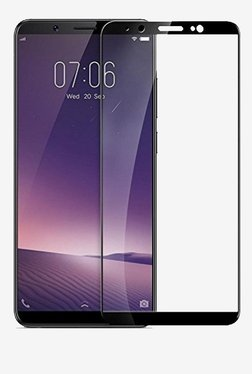 Parallel Universe Tempered Glass Screen Protector For Vivo V7 Plus (Black)