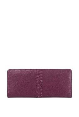 Hidesign Fabian Sebbie W4 Purple Rfid Bi-fold Wallet