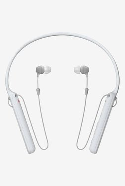 Sony WI-C400 Wireless Headphones with Mic (White)
