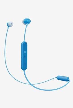 Sony WI-C300 Wireless Earphones (Blue)