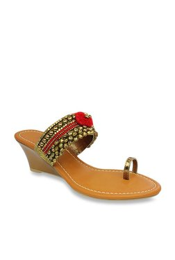 e1c80bb0ed2 Ethnic Footwear For Women   Buy Ladies Ethnic Shoes Online In India ...