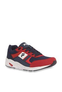 Fila Johan Navy   Red Sneakers e64f8749db8e5