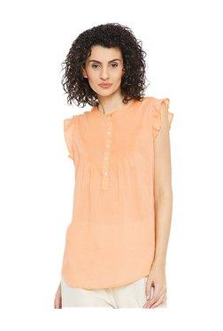 Cottonworld Orange Cotton Top