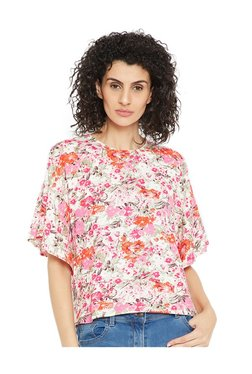 Cottonworld Multicolor Floral Print Top