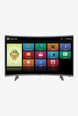 Mitashi MiCE032v30 HS 80.01 Cm (32 Inch) HD Ready Smart Curved LED TV (Black)