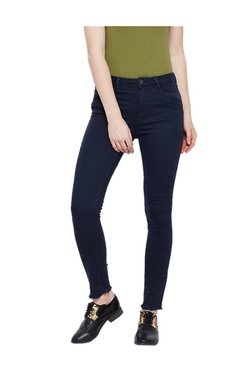 Tom Tailor Blue Straight Fit Trousers