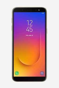 Samsung Galaxy J6 64 GB (Gold) 4 GB RAM, Dual SIM 4G