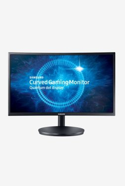 Samsung LC24FG70FQWXXL 59.8 Cm (23.5 Inch) Full HD Curved LED Gaming Monitor (Dark Blue Black)