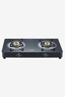 Prestige 40081 Royale Plus 2 Burners Gas Stove (Black)