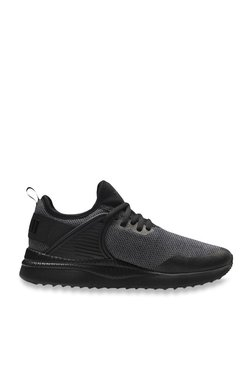 Puma Kids Pacer Next Cage Knit Jr Black Sneakers