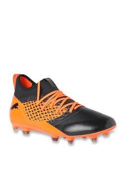 39aef72a773ea7 Puma Future 2.3 Netfit FG AG Black   Orange Football Shoes