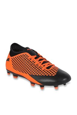 9eadfa1d0745 Puma Future 2.4 FG AG Shocking Orange & Black Football Shoes