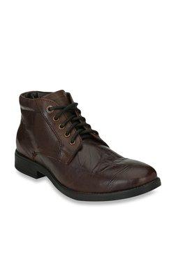 Alberto Torresi Iger Dark Brown Derby Shoes