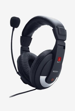 Iball Rocky Wired Headset with Mic (Black)