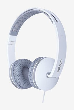 Astrum HS320 Over the Ear Headphone With Mic (White)