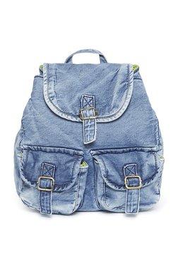 Westside Blue Denim Backpack