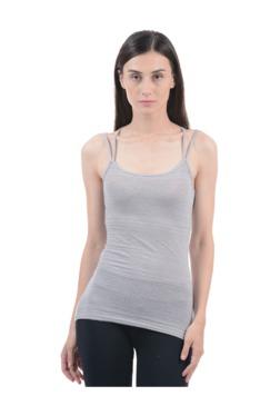 Aeropostale Grey Lace Cami Top
