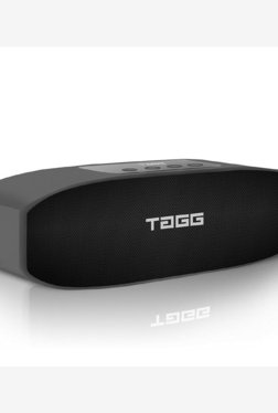 Tagg Loop Portable Bluetooth Speaker With Mic (Black)
