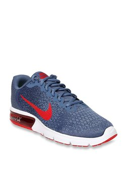 Nike Air Max Sequent 2 Blue Running Shoes