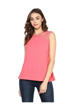 Soie Pink Lace Top