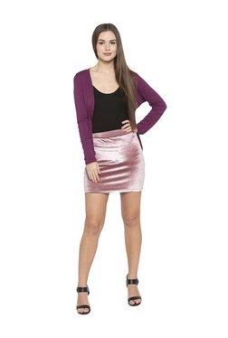 Globus Pink Mini Skirt
