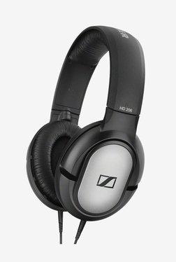 Sennheiser HD 206 507364 Over the Ear Headphone (Silver/Black)