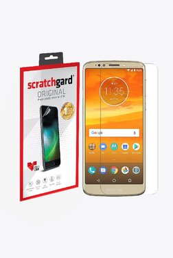 Scratchgard Anti-Bubble & Anti-Fingerprint Screen Protector For Motorola Moto E5 Plus