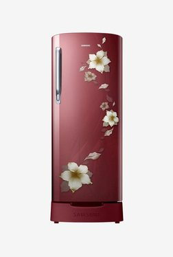 Samsung RR19N1822R2/HL 2 Star 192 L Direct Cool Single Door Refrigerator (Star Flower Red)
