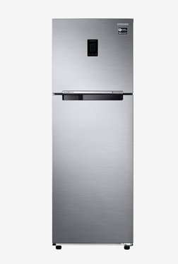 Samsung RT37M5518S8/HL 345 L Inverter 3 Star Frost Free Double Door Refrigerator (Elegant Inox)