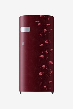 Samsung RR19N1Y12RZ/HL 2 Star 192 L Direct Cool Single Door Refrigerator (Tender Lily Red)
