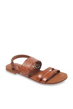 Roxy Felicia Dark Tan Back Strap Sandals