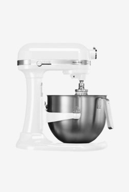 KitchenAid Artisan Design 5KSM7591XBWH 500W 1 Jar Stand Mixer Grinder (White)