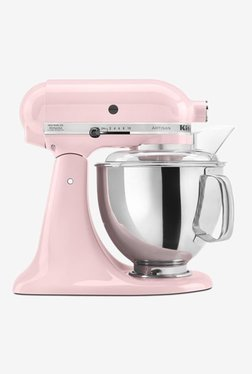 KitchenAid Artisan Design 5KSM150PSDPK 300W 1 Jar Stand Mixer Grinder (Pink)