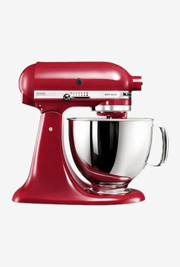KitchenAid Artisan Design 5KSM150PSDCA 300W 1 Jar Stand Mixer Grinder (Candy Apple Red)