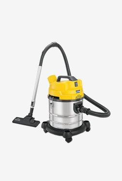 Kent KSL-612 Wet and Dry 1200W Vacuum Cleaner (Yellow/Silver)