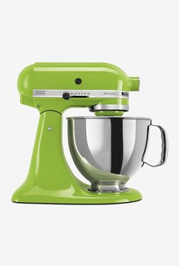 KitchenAid Artisan Design 5KSM150PSDGA 300W 1 Jar Stand Mixer Grinder (Green Apple)