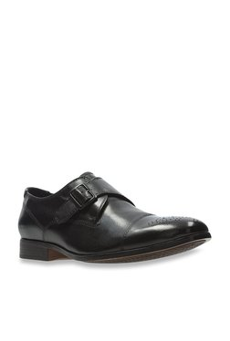 0e8aeffaf82 Clarks Gilmore Black Monk Shoes