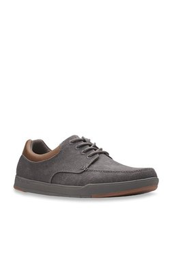 2eb5fed5680 Clarks Step Isle Dark Grey Sneakers