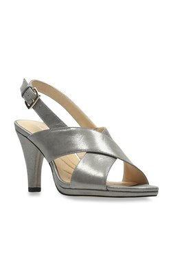 c3c231df0 Clarks Dalia Lotus Pewter Back Strap Sandals