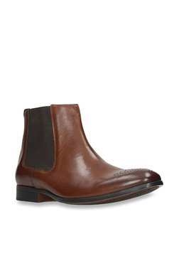 75a6c28a5992 Clarks Gilmore British Tan Chelsea Boots