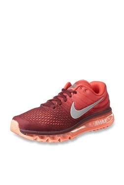 Nike Air Max 2017 Red Running Shoes