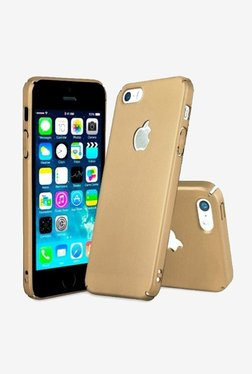 Parallel Universe Matte Finish Back Cover Case For IPhone 5/5s (Gold)