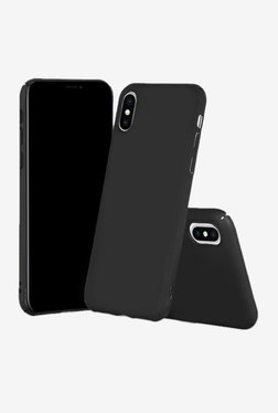 Parallel Universe Matte Finish Back Cover Case For iPhone X (Black)