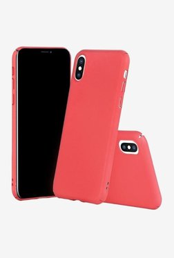 Parallel Universe Matte Finish Back Cover Case For IPhone X (Hot Pink)