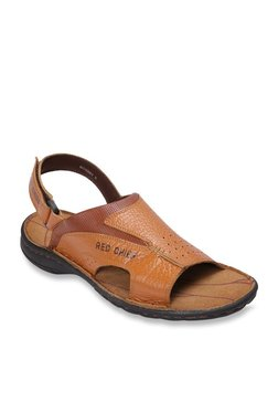 Red Chief Tan Back Strap Sandals - Mp000000003515205