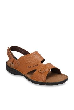 Red Chief Tan Back Strap Sandals