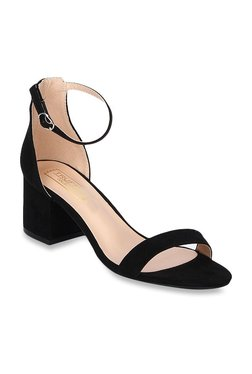 08f2bae4ecf Truffle Collection Black Ankle Strap Sandals
